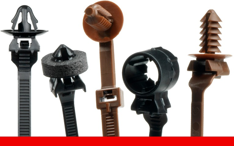 Fasteners for Automotive Wire Harness